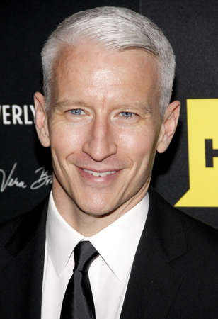 Anderson Cooper at the 39th Annual Daytime Emmy Awards held at the Beverly Hilton Hotel in Beverly Hills on June 23, 2012. Editorial