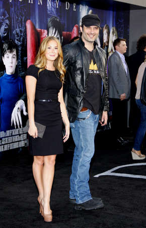 alexa: Alexa Vega and Robert Rodriguez at the Los Angeles premiere of Dark Shadows held at the Graumans Chinese Theatre in Hollywood on May 7, 2012.