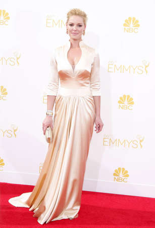 katherine: Katherine Heigl at the 66th Annual Primetime Emmy Awards held at the Nokia Theatre L.A. Live in Los Angeles on August 25, 2014 in Los Angeles, California.