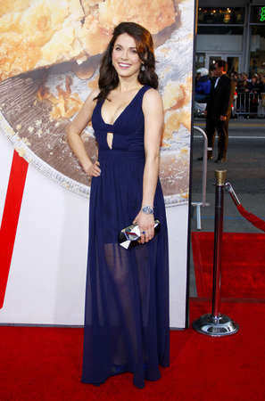 Alexandra Cobrin at the Los Angeles premiere of American Reunion held at the Graumans Chinese Theater in Hollywood on March 19, 2012. Editorial