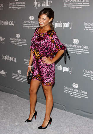 Vanessa Minnillo at the 4th Annual Pink Party held at the Hangar 8 in Santa Monica on September 13, 2008.