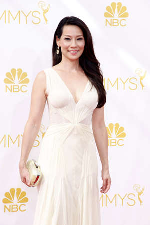 lucy: Lucy Liu at the 66th Annual Primetime Emmy Awards held at the Nokia Theatre L.A. Live in Los Angeles on August 25, 2014 in Los Angeles, California.