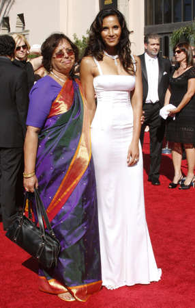 padma: Padma Lakshmi attends the 59th Annual Primetime Emmy Awards held at the Shrine Auditorium in Los Angeles, California, United States on September 16, 2007. Editorial