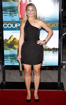 Elisabeth Rohm at the Los Angeles premiere of Couples Retreat held at the Manns Village Theatre in Westwood on October 5, 2009.
