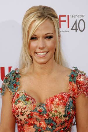 Kendra Wilkinson attends the 35th Annual AFI Life Achievement Award held at the Kodak Theatre in Hollywood, California on June 7, 2007. Editorial