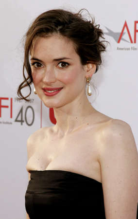 kodak: Winona Ryder attends the 35th Annual AFI Life Achievement Award held at the Kodak Theatre in Hollywood, California on June 7, 2007.
