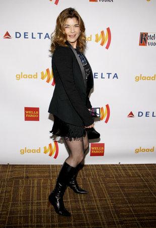 san giacomo: Laura San Giacomo at the 23rd Annual GLAAD Media Awards held at the Westin Bonaventure Hotel in Los Angeles on April 21, 2012. Editorial