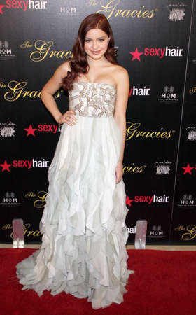 ariel: Ariel Winter at the 37th Annual Gracie Awards Gala held at the Beverly Hilton Hotel in Beverly Hills on May 22, 2012.