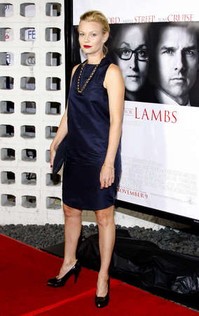 hollywood   california: Samantha Mathis at the AFI Fest Opening Night Gala Premiere of Lions for Lambs held at the ArcLight Theater in Hollywood, California, United States on November 1, 2007.