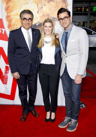 Eugene Levy at the Los Angeles premiere of American Reunion held at the Graumans Chinese Theater in Hollywood on March 19, 2012. Editorial