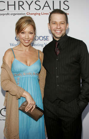 bel air: Jon Cryer and Lisa Joyner at the Chrysalis 5th Annual Butterfly Ball held at the Italian Villa Carla & Fred Sands in Bel Air, USA on June 10, 2006. Editorial