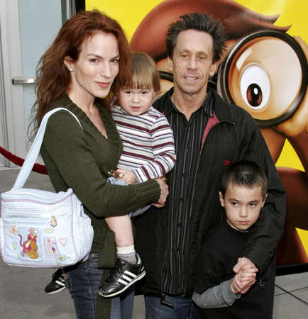grazer: Brian Grazer and family attend the World Premiere of Curious George held at the ArcLight Cinemas in Hollywood, California on January 28, 2006.