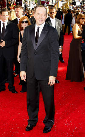 Kevin Spacey at the 60th Primetime EMMY Awards held at the Nokia Theater in Los Angeles, California, United States on September 21, 2008.