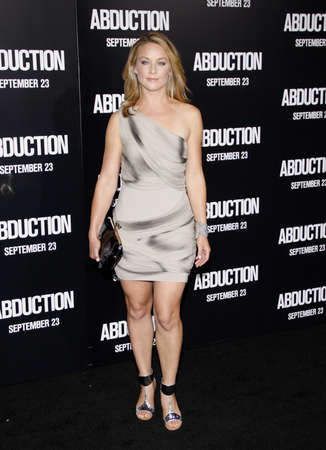 abduction: Elisabeth Rohm at the Los Angeles premiere of Abduction held at the Graumans Chinese Theater in Los Angeles on September 15, 2011.