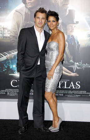 martinez: Halle Berry and Olivier Martinez at the Los Angeles premiere of Cloud Atlas held at the Graumans Chinese Theatre in Hollywood on October 24, 2012. Editorial