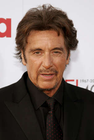 kodak: Al Pacino attends the 35th Annual AFI Life Achievement Award: a tribute to Al Pacino held at the Kodak Theatre in Hollywood, California on June 7, 2007.