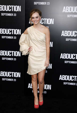 abduction: Madeline Carroll at the Los Angeles premiere of Abduction held at the Graumans Chinese Theater in Los Angeles on September 15, 2011 Editorial