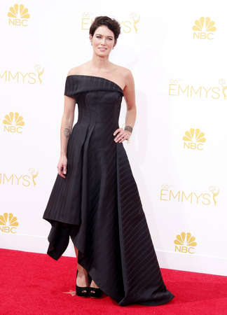 lena: Lena Headey at the 66th Annual Primetime Emmy Awards held at the Nokia Theatre L.A. Live in Los Angeles on August 25, 2014 in Los Angeles, California. Editorial