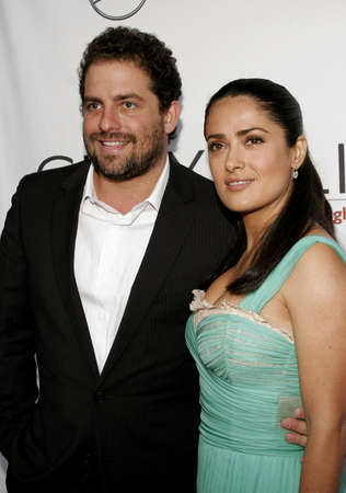 bel air: Brett Ratner and Salma Hayek at the Chrysalis 5th Annual Butterfly Ball held at the Italian Villa Carla & Fred Sands in Bel Air, USA on June 10, 2006.