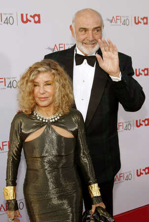 kodak: Sean Connery attends the 35th Annual AFI Life Achievement Award held at the Kodak Theatre in Hollywood, California on June 7, 2007.