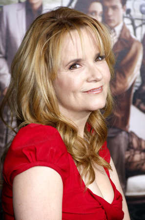 lea: Lea Thompson at the Los Angeles premiere of Beautiful Creatures held at the TCL Chinese Theater in Hollywood on February 6, 2013 in Los Angeles, California.