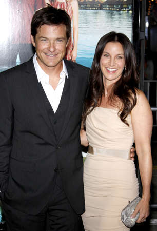 amanda: Jason Bateman and Amanda Anka at the Los Angeles premiere of Couples Retreat held at the Manns Village Theatre in Westwood on October 5, 2009.