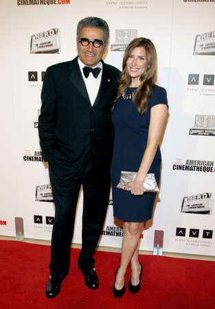 levy: Eugene Levy at the American Cinematheque 26th Annual Award Presentation held at the Beverly Hilton Hotel in Beverly Hills on November 15, 2012. Editorial