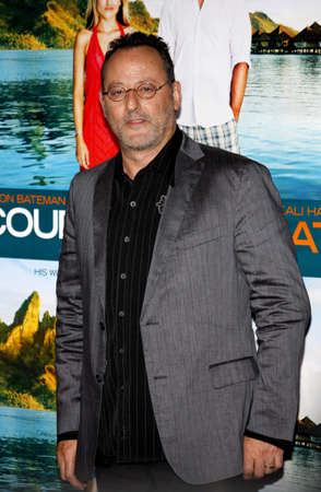 Jean Reno at the Los Angeles premiere of Couples Retreat held at the Manns Village Theatre in Westwood on October 5, 2009.