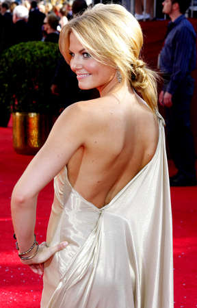 morrison: Jennifer Morrison at the 60th Primetime EMMY Awards held at the Nokia Theater in Los Angeles, California, United States on September 21, 2008. Editorial
