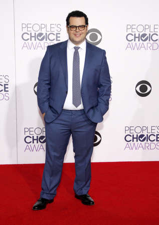 gad: Josh Gad at the 41st Annual Peoples Choice Awards held at the Nokia L.A. Live Theatre in Los Angeles on January 7, 2015. Editorial