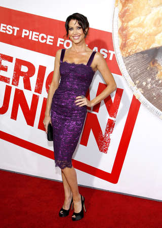 Shannon Elizabeth at the Los Angeles premiere of American Reunion held at the Graumans Chinese Theater in Hollywood on March 19, 2012.