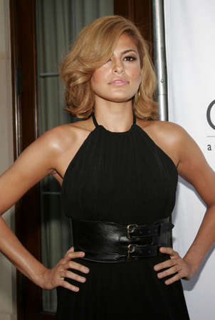 bel air: Eva Mendes at the Chrysalis 5th Annual Butterfly Ball held at the Italian Villa Carla & Fred Sands in Bel Air, USA on June 10, 2006.