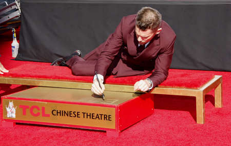 ethan: Ethan Hawke at the Ethan Hawke Hand And Footprint Ceremony held at the TCL Chinese Theatre in Hollywood, USA on January 8, 2015. Editorial