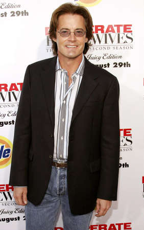 kyle: Kyle MacLachlan at the Desperate Housewives: Extra Juicy Edition Season 2 DVD Launch held at the Wisteria Lane Universal Studios in Hollywood, USA on August 5, 2006. Editorial