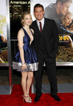 amanda: Amanda Seyfried and Channing Tatum at the Los Angeles premiere of Dear John held at the Graumans Chinese Theatre in Hollywood on Februaty 1, 2010. Editorial