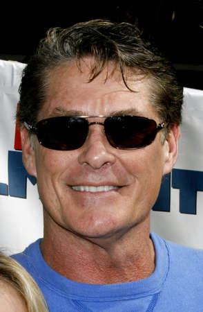 David Hasselhoff attends attends World Premiere of Evan Almighty held at the Universal Citywalk in Hollywood, California, California, on June 10, 2006.