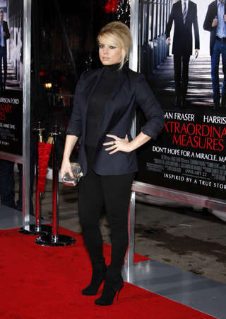 simpson: Jessica Simpson at the Los Angeles premiere of Extraordinary Measures held at the Graumans Chinese Theater in Hollywood, USA on January 19, 2010.