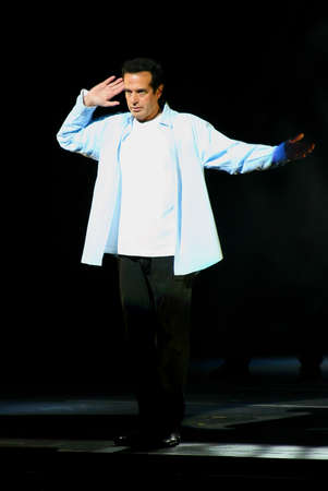 kodak: Master magician and illusionist David Copperfield performs his show held at the Kodak Theatre in Hollywood, USA on November 5, 2006.