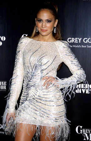 after the party: Jennifer Lopez at the Fiat Presents Jennifer Lopezs Official American Music Awards After Party held at the Greystone Manor Supperclub in West Hollywood on November 20, 2011. Editorial