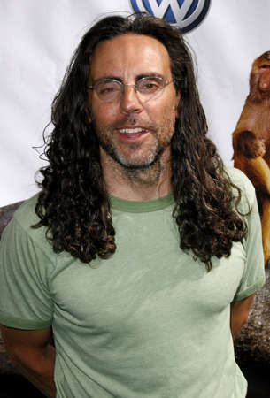 almighty: Tom Shadyac attends World Premiere of Evan Almighty held at the Universal Citywalk in Hollywood, California, California, on June 10, 2006.