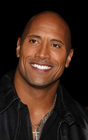 Dwayne Johnson at the Los Angeles premiere of Faster held at the Graumans Chinese Theater in Hollywood, USA on November 22, 2010. Editorial