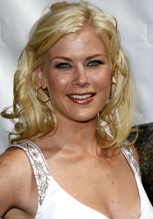 almighty: Alison Sweeney attends World Premiere of Evan Almighty held at the Universal Citywalk in Hollywood, California, California, on June 10, 2006.