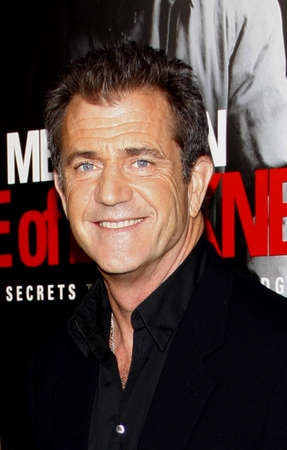 Mel Gibson at the Los Angeles premiere of Edge Of Darkness held at the Graumans Chinese Theatre in Hollywood on January 26, 2010.
