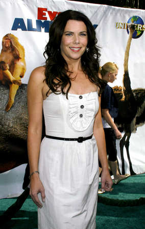 almighty: Lauren Graham attends World Premiere of Evan Almighty held at the Universal Citywalk in Hollywood, California, California, on June 10, 2006.