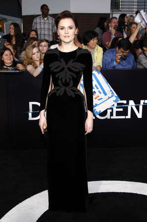 roth: Veronica Roth at the Los Angeles premiere of Divergent held at the Regency Bruin Theatre in Westwood, USA on March 18, 2014. Editorial