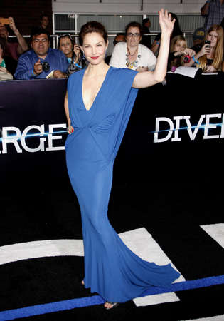 divergent: Ashley Judd at the Los Angeles premiere of Divergent held at the Regency Bruin Theatre in Westwood, USA on March 18, 2014.