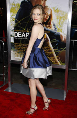 amanda: Amanda Seyfried at the Los Angeles premiere of Dear John held at the Graumans Chinese Theatre in Hollywood on February 1, 2010.