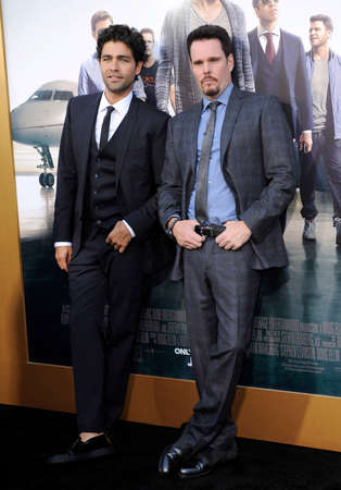 dillon: Adrian Grenier and Kevin Dillon at the Los Angeles premiere of Entourage held at the Regency Village Theatre in Westwood, USA on June 1, 2015.