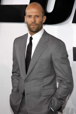 Jason Statham at the Los Angeles premiere of 'Furious 7' held at the TCL Chinese Theater in Hollywood, USA on April 1, 2015.