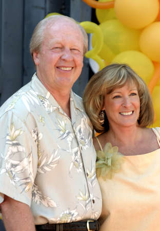 jill: Jim Davis and wife Jill at the World premiere of Garfield: The Movie held at the Fox Studios Zanuck Theater in Los Angeles, USA on June 6, 2004.